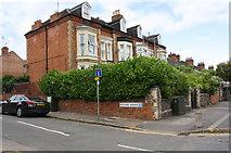 SK5802 : Aylestone Road houses at Rutland Avenue junction by Roger Templeman