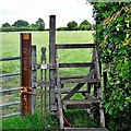TQ3415 : Stile on the path west of Hayleigh Wood Cottage by Ian Cunliffe