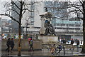 SJ8498 : Queen Victoria Monument, Piccadilly Gardens by N Chadwick