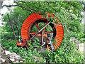 TQ3615 : Large reel south of Ashurst Farm by Ian Cunliffe