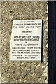 S6970 : Plaque on old power station, Milford by Colin Park