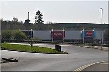 TQ6042 : Tunbridge Wells Shopping Park (Closed) by N Chadwick