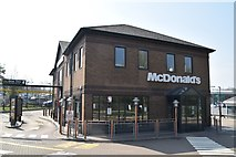 TQ6042 : McDonald's (closed), The Fountains Retail Park by N Chadwick