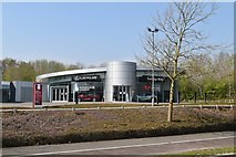 TQ5942 : Tunbridge Wells Lexus (closed) by N Chadwick