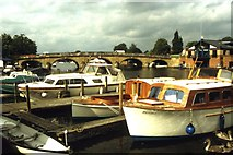 SU7682 : Henley Bridge and the River Thames by Colin Park