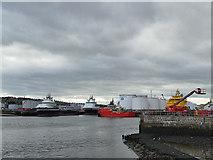 NJ9505 : Aberdeen Tidal Harbour by Stephen Craven