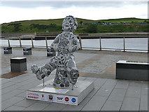 NJ9505 : Oor Wullie, Footdee, Aberdeen by Stephen Craven
