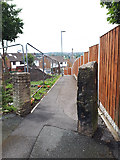 SE2434 : Path from Hough End Lane to Spring Valley Close by Stephen Craven