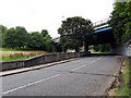 SE2433 : Spring Valley estate road by Stephen Craven