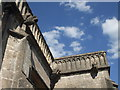 ST5944 : Gargoyles on St Mary's, Croscombe by Neil Owen