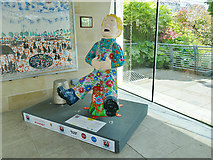 NJ9304 : Duthie Park: Oor Wullie in the winter gardens by Stephen Craven