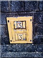 SH6068 : Hydrant marker on Bro Syr Ifor, Tregarth by Meirion