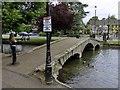 SP1620 : Footbridge over the River Windrush by Steve Daniels