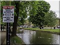 SP1620 : The River Windrush in Bourton-on-the-Water by Steve Daniels