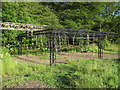 TL5600 : Obstacle course apparatus, Kelvedon Hatch by Roger Jones