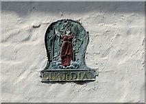 TG2309 : 32 Magdalen Street - GUARDIAN fire insurance  marker by Evelyn Simak
