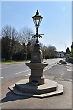 TQ5742 : Memorial fountain and lamp standard by N Chadwick