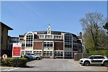 TQ5840 : Hermes House (Freight Transport Association) by N Chadwick