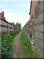 SE2228 : Footpath from Penfield Road to Moorside Vale by Stephen Craven
