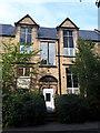 SE2435 : Former Broad Lane Board School, Bramley - boys' entrance by Stephen Craven