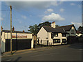 SE2026 : Cafe and funeral directors, Oxford Road, Gomersal by Stephen Craven