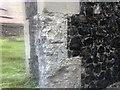 TQ4768 : Benchmark, St Mary's Church by Steve Smith