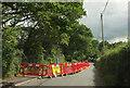SX8176 : Barriers on Ashburton Road, Bovey Tracey by Derek Harper