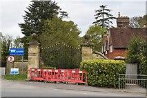 TQ5740 : Gates to Bennet Memorial School by N Chadwick