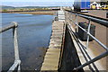 NX0561 : Steps at the Harbour, Stranraer by Billy McCrorie