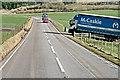 NT0744 : A721 near Howburn by David Dixon