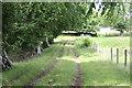 ST2094 : Track between fields behind Church Farm by M J Roscoe