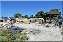 TL3852 : Harlton: reworking farm buildings by John Sutton