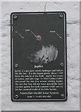 NO5603 : Anstruther Model Solar System: Jupiter by Richard Sutcliffe