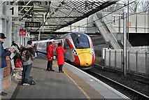 NT9953 : Berwick Railway Station by Walter Baxter