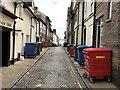"""TL8564 : """"Bin Alley"""" in Bury St Edmunds by Richard Humphrey"""