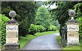 SE5007 : The entrance to Brodsworth Hall Gardens by Dave Pickersgill