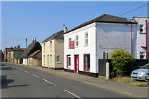 TL4568 : Cottenham: Church End Carpet & Vinyl Centre by John Sutton