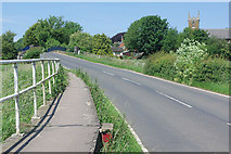SK6515 : Rearsby Road, Thrussington by Stephen McKay