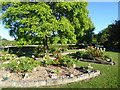 TQ6744 : The Garden of Remembrance in Paddock Wood Cemetery by Marathon