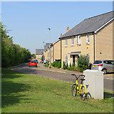 TL4567 : Cottenham: Racecourse View by John Sutton