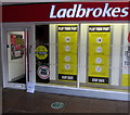 ST2995 : Play Your Part - Stay Safe, Ladbrokes, Gwent Square, Cwmbran by Jaggery