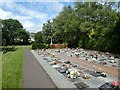 SX9493 : Garden of Remembrance, Exeter Higher Cemetery by David Smith