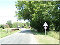 TG1318 : Swannington Bridge on The Street by Adrian Cable
