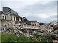 SD8011 : Bury Fire Station Demolition, June 2020 by David Dixon