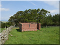 NT9032 : RAF Milfield - Coldside Hill Radio Station - transformer compound by James T M Towill