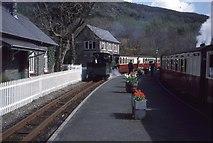 SH6441 : Tan-y-bwlch Station by Richard Webb