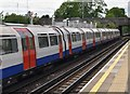 TQ0784 : Train at Hillingdon Station by N Chadwick