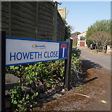 SZ0795 : Ensbury Park: Howeth Close by Chris Downer