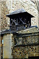 TL4457 : Bellcote at Little St Mary's Church by Tiger