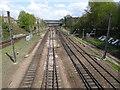 SE5951 : York Racecourse / Holgate Bridge railway station (site), York by Nigel Thompson